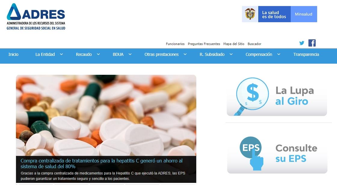 Consulta de EPS paso 1