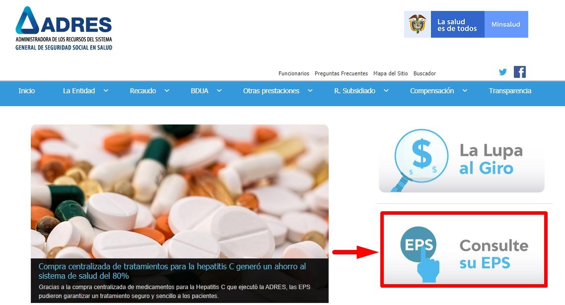 Consulta de EPS paso 2