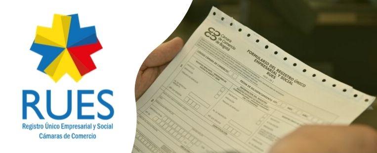 Registros que se pueden consultar en el RUES